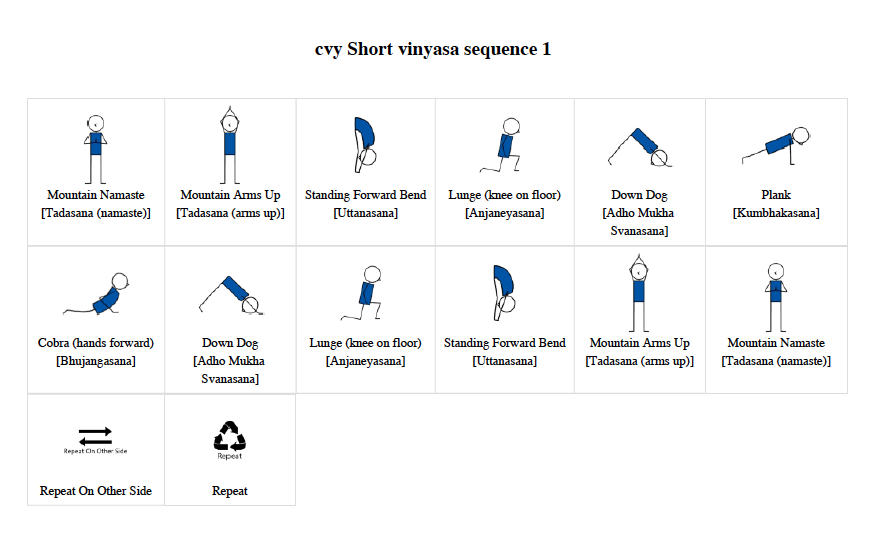 Short Vinyasa flow 1