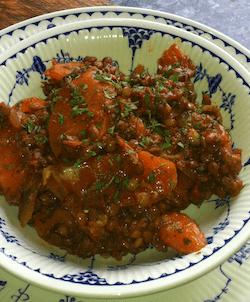 Turksih style lentils